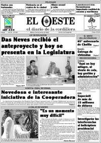 Diario El Oeste